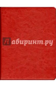 """Тетрадь на кольцах """"Копибук"""" со сменным блоком (80 листов, цвет красный с черным) (36087-10)"""