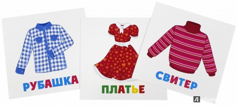 Иллюстрация 1 из 11 для Развивающие карточки Одежда (12 штук) (37274-50) | Лабиринт - книги. Источник: Лабиринт