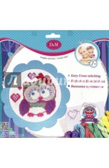 Набор для вышивания крестиком Совушка (57897) набор для детского творчества набор веселая кондитерская 1 кг