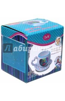 Роспись по керамике Чайный набор Совушка (58009) creative набор для творчества украшаем чайный сервиз