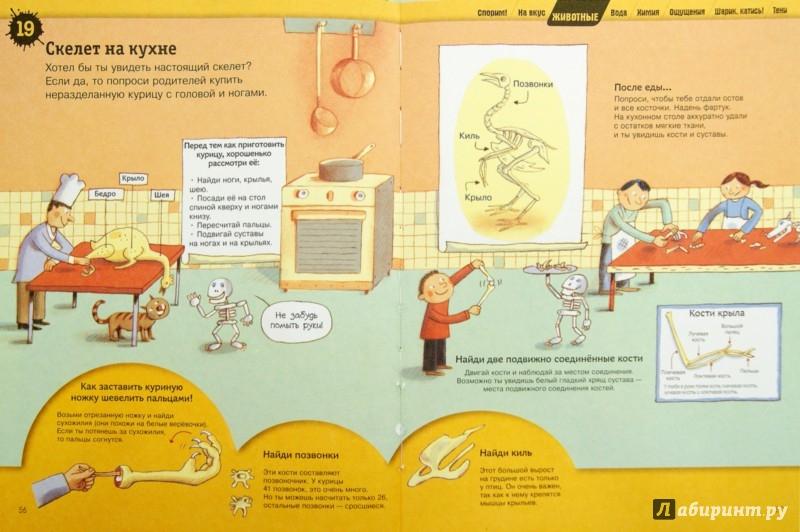 Иллюстрация 1 из 24 для Большая книга простых экспериментов для детей | Лабиринт - книги. Источник: Лабиринт