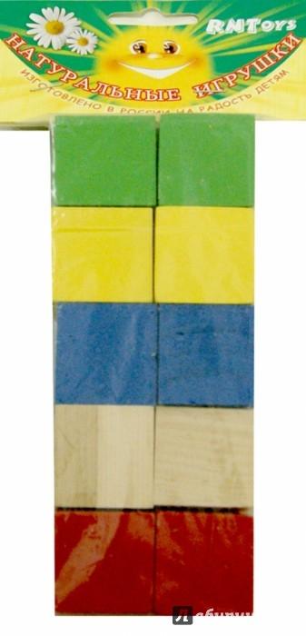 Иллюстрация 1 из 4 для Кубики цветные, 10 штук (Д-634) | Лабиринт - игрушки. Источник: Лабиринт