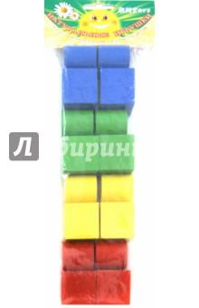 Набор геометрических фигур цветной, 16 штук (Д-636) елена крош аппликация из геометрических фигур
