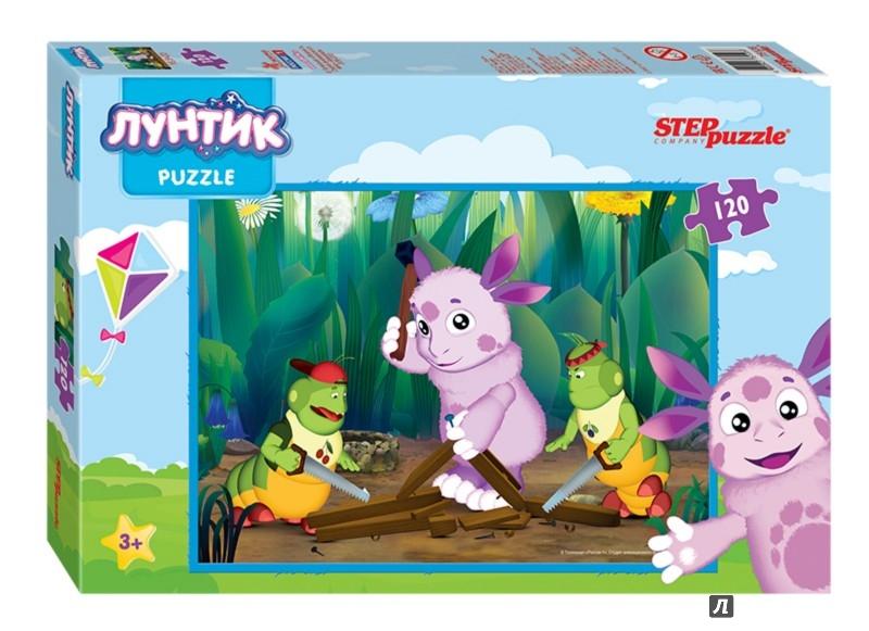 "Иллюстрация 1 из 11 для Step Puzzle-120 ""Лунтик+Барбоскины"" (75128) | Лабиринт - игрушки. Источник: Лабиринт"