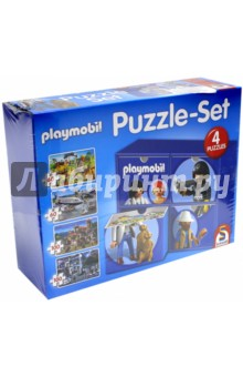 Набор паззлов Playmobil, 2x60, 2x100 элементов (56500).