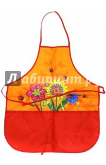 """Фартук для труда и рисования """"Цветы"""" (36755-24)"""