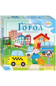 Развивающая игра Город (89804) игры с прищепками раскраски и головоломки iq игры для детей 4 6 лет