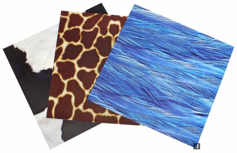 """Иллюстрация 1 из 24 для Бумага цветная для оригами """"Мех и кожа"""" (11-24-111/4)   Лабиринт - игрушки. Источник: Лабиринт"""
