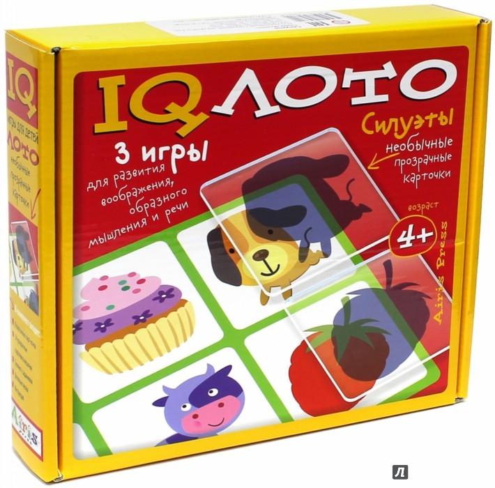 Иллюстрация 1 из 18 для Пластиковое лото. Силуэты. Комплект из 3 игр   Лабиринт - игрушки. Источник: Лабиринт