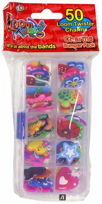 Иллюстрация 1 из 4 для Набор из 50 подвесок на браслет (SV11872) | Лабиринт - игрушки. Источник: Лабиринт