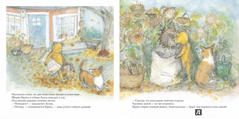 Иллюстрация 1 из 37 для Осень мишки Бруно - Гунилла Ингвес | Лабиринт - книги. Источник: Лабиринт
