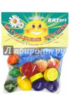 """Волшебный мешочек """"Фрукты-ягоды цветные, тип 2"""", 14 деталей (Д-640)"""