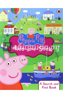 Peppa Pig. Peppa Hide-and-Seek. Search & Find Book postman pig and his busy neighbors