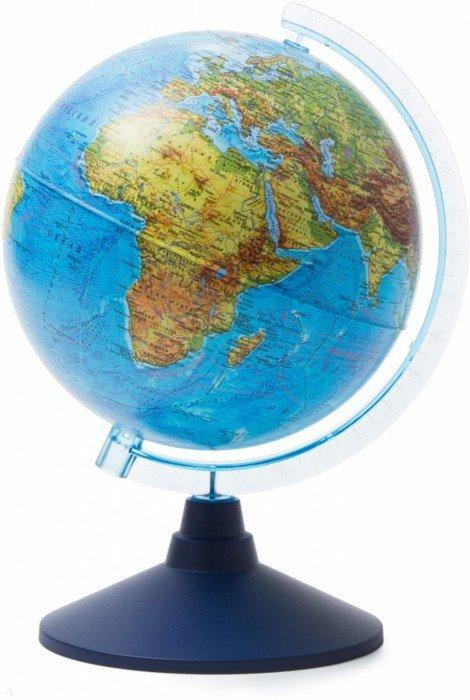 Иллюстрация 1 из 4 для Глобус Земли физический (d=210 мм) (Ке012100176) | Лабиринт - канцтовы. Источник: Лабиринт