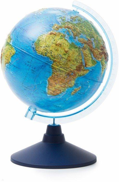 Иллюстрация 1 из 7 для Глобус Земли физический рельефный (d=210 мм) (Ке022100183) | Лабиринт - канцтовы. Источник: Лабиринт