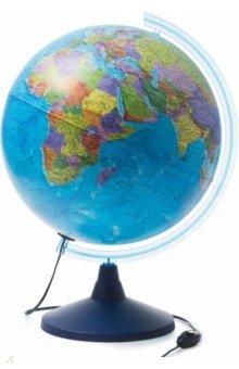 Глобус Земли политический (d400, подсветка) (Ке014000245)