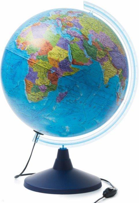 Иллюстрация 1 из 5 для Глобус Земли политический (d400, подсветка) (Ке014000245) | Лабиринт - канцтовы. Источник: Лабиринт