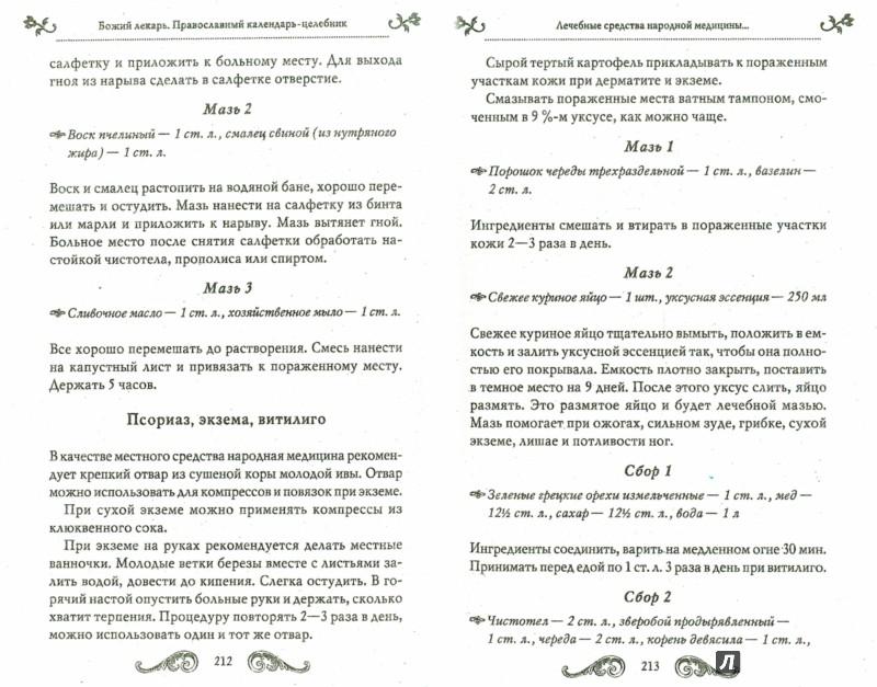 Иллюстрация 1 из 6 для Божий лекарь. Православный календарь-целебник | Лабиринт - книги. Источник: Лабиринт