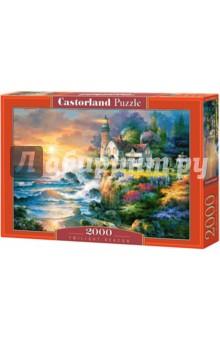 Puzzle-2000 Маяк в сумерках (C-200528) puzzle 2000 рододендроны adamus 29662