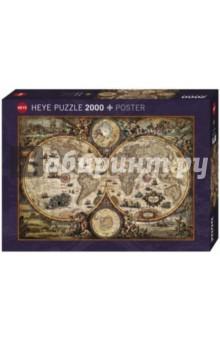 Puzzle-2000 Историческая карта (29666) puzzle 2000 замок ужаса loup 26127