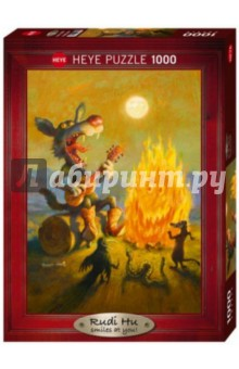 Puzzle-1000 Поющий койот, Classics (29620) puzzle 1000 сюрприз волк mordillo classics 29171