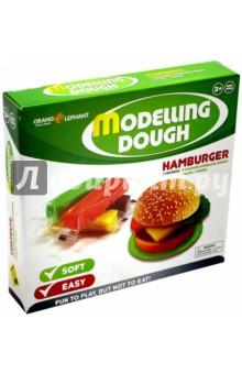 """Тесто в наборе. 4 цвета. """"Гамбургер"""" (OE-MD/4PM2)"""