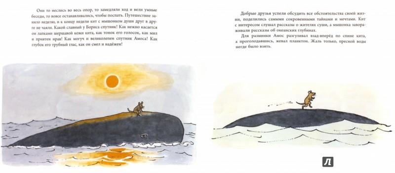 Иллюстрация 1 из 37 для Амос и Борис - Уильям Стайг | Лабиринт - книги. Источник: Лабиринт