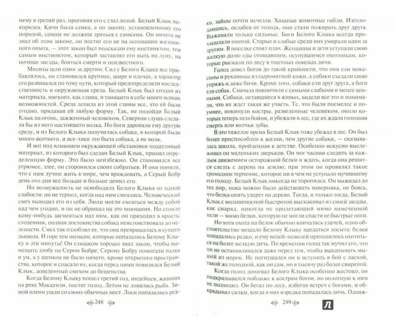 Иллюстрация 1 из 5 для Белый клык. Лучшие повести и рассказы о животных - Лондон, Кервуд, Киплинг   Лабиринт - книги. Источник: Лабиринт