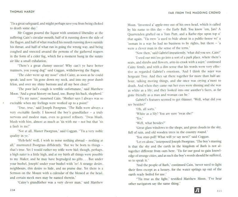 Иллюстрация 1 из 9 для Far from the Madding Crowd - Thomas Hardy | Лабиринт - книги. Источник: Лабиринт