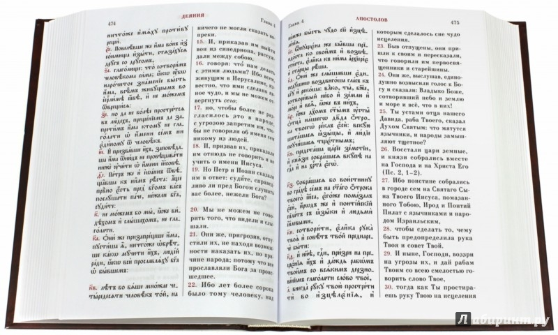 Иллюстрация 1 из 26 для Новый Завет. С параллельным переводом (на церковнославянском и русском языках) | Лабиринт - книги. Источник: Лабиринт