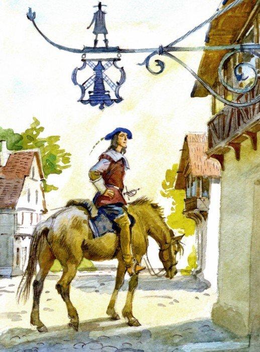Иллюстрация 1 из 34 для Три мушкетера (в одном томе) - Александр Дюма | Лабиринт - книги. Источник: Лабиринт