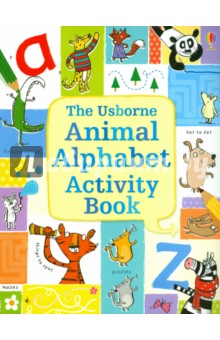 Animal Alphabet activity book pocket doodling and colouring book blue book
