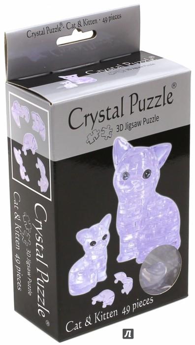 """Иллюстрация 1 из 7 для 3D головоломка """"Кошка серебристая"""" (90126)   Лабиринт - игрушки. Источник: Лабиринт"""
