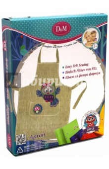 Набор для шитья фартука Совы (57994) набор для шитья из 70 ти предметов швея