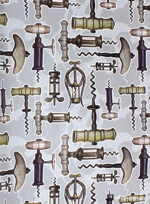 """Иллюстрация 1 из 4 для Бумага упаковочная """"Штопоры"""" (39491)   Лабиринт - сувениры. Источник: Лабиринт"""