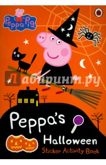 Peppa's Halloween. Sticker Activity Book peppa pig happy easter sticker activity book