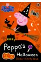 Nicholson Sue Peppa's Halloween. Sticker Activity Book little children s halloween activity book