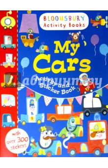 My Cars. Activity and Sticker book my opposites sticker activity book
