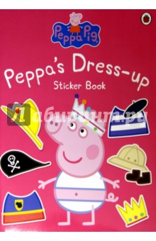 Peppa Dress-Up. Sticker Book amazing adventures sticker book