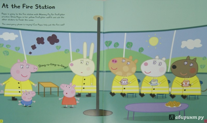 Иллюстрация 1 из 21 для Peppa Dress-Up. Sticker Book | Лабиринт - книги. Источник: Лабиринт