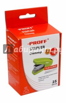 Степлер, зеленый (PF-5644-03) Proff