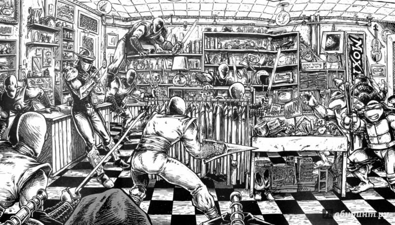Иллюстрация 1 из 32 для Черепашки-Ниндзя. Выпуск 13 - Истмен, Лерд | Лабиринт - книги. Источник: Лабиринт
