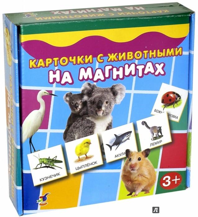 Иллюстрация 1 из 9 для Карточки с животными на магнитах (2906) | Лабиринт - игрушки. Источник: Лабиринт