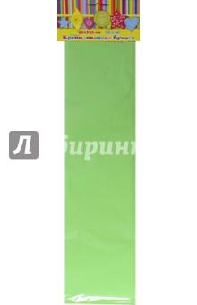 Бумага крепированная светло-зеленая (39522-10)