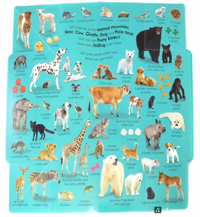 Иллюстрация 1 из 16 для Baby Animals. Little Hide and Seek | Лабиринт - книги. Источник: Лабиринт
