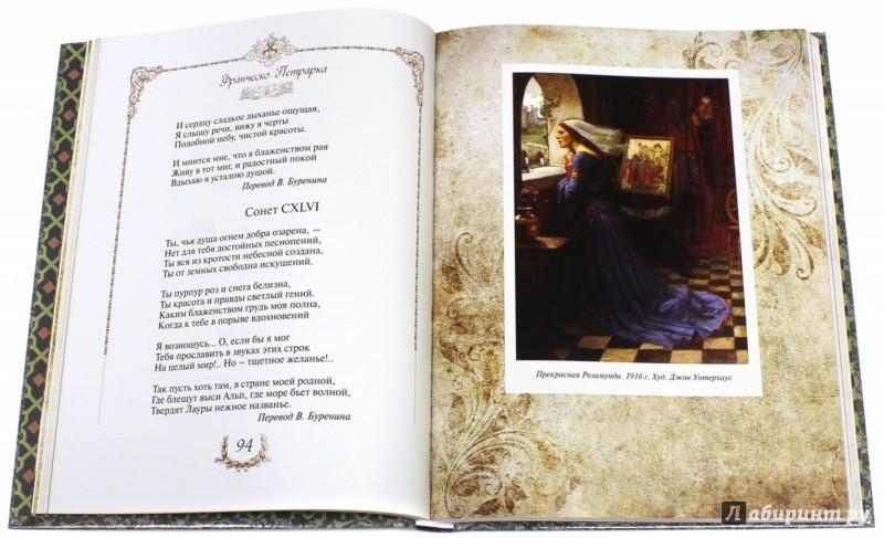 Иллюстрация 1 из 8 для Сонеты о прекрасной даме - Франческо Петрарка   Лабиринт - книги. Источник: Лабиринт