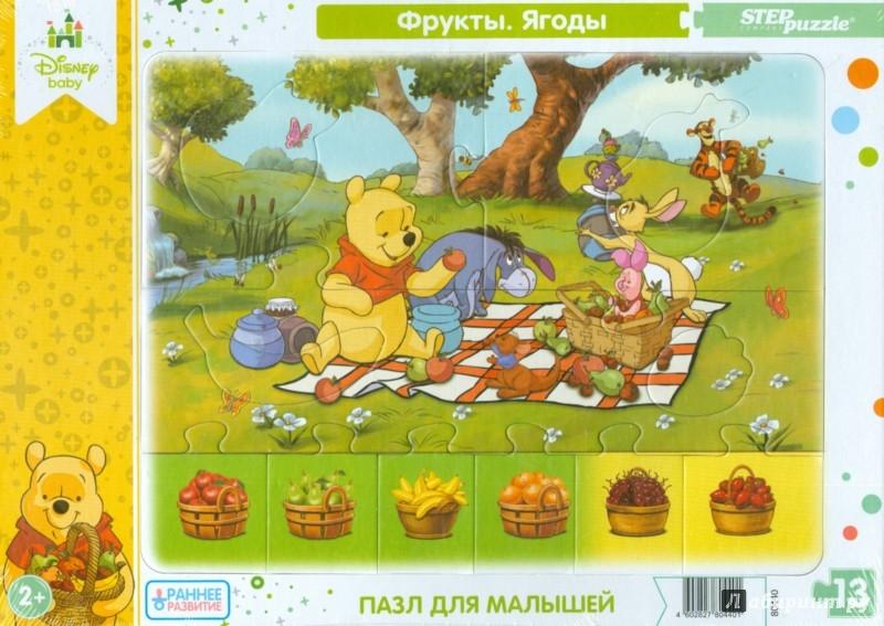 """Иллюстрация 1 из 11 для Развивающий пазл """"Disney Baby Step"""" (80434-80441)   Лабиринт - игрушки. Источник: Лабиринт"""