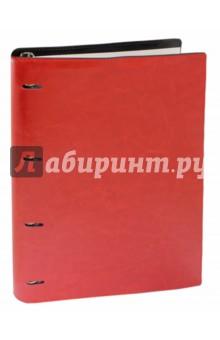 Тетрадь на кольцах Copybook со сменным блоком (200 листов, А4+, красно-черная) (37936) enprani компактная пудра деликатное сияние со сменным блоком натуральный бежевый