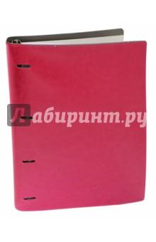 Тетрадь на кольцах Copybook со сменным блоком (200 листов, А4+, малиново-серая) (37938) тетрадь со сменным блоком dance 120 листов клетка 83323