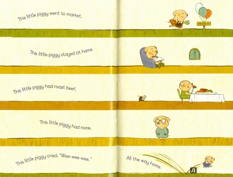 Иллюстрация 1 из 25 для Nursery Rhymes (HB) MyFavourite | Лабиринт - книги. Источник: Лабиринт